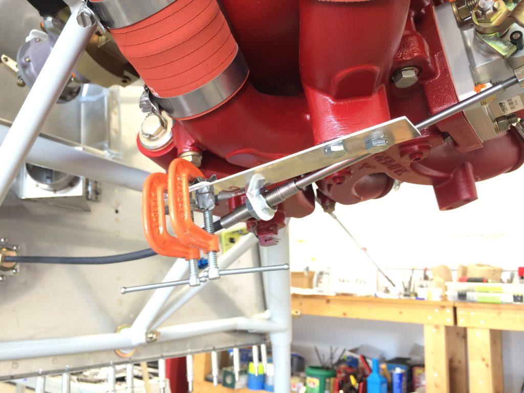Phase 1 throttle bracket prototype