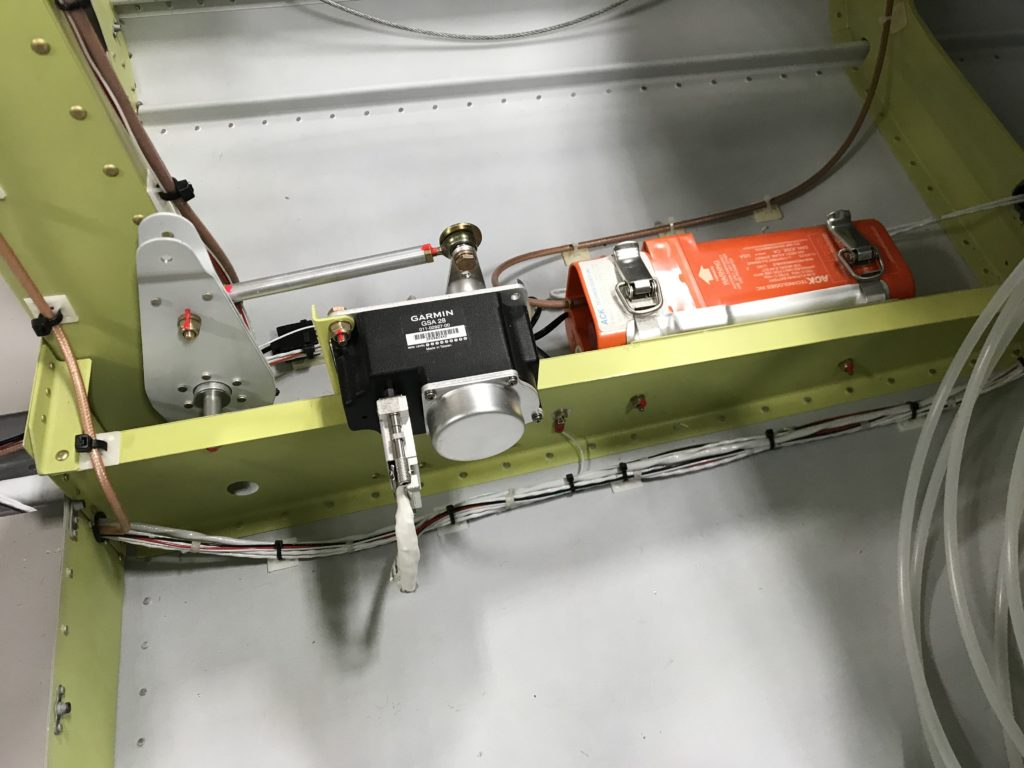 AP pitch servo and ELT wiring