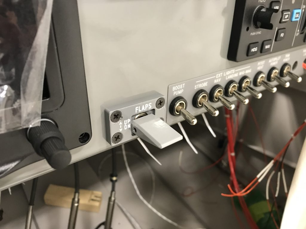 Flap switch