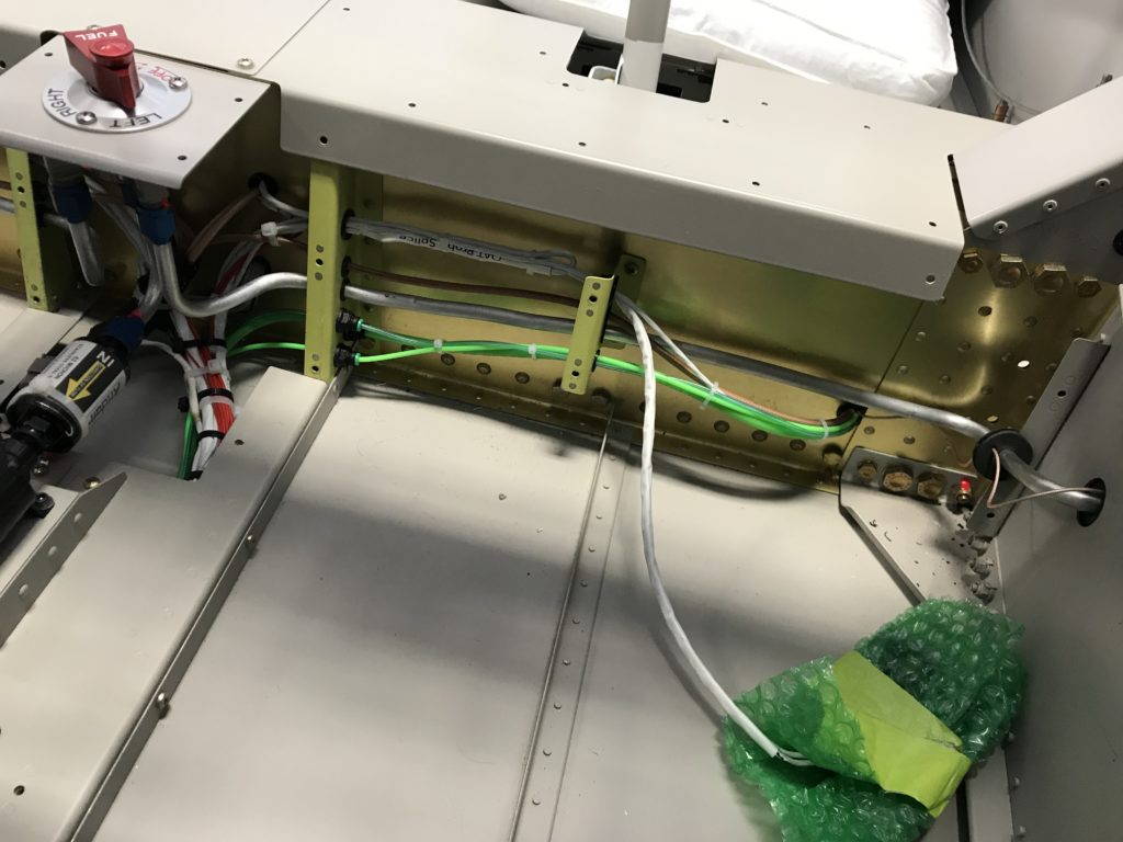 Pitot-static and OAT connected