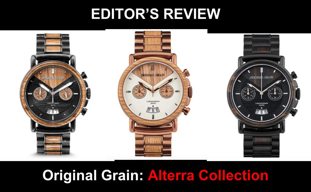 Original Grain Alterra Collection Review