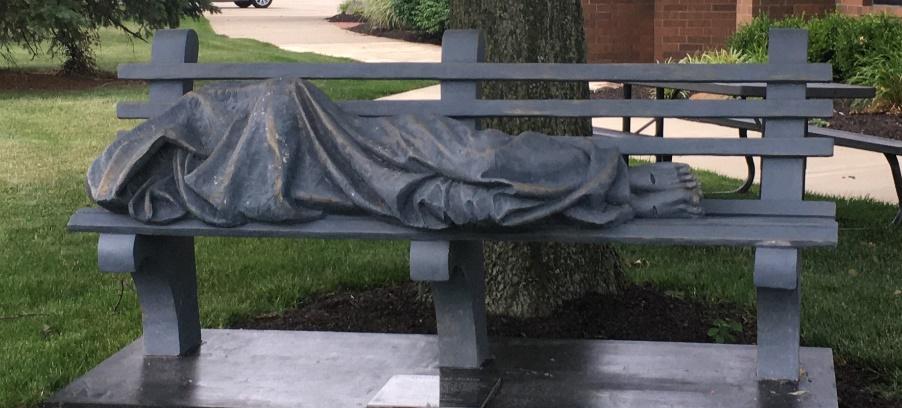 Homeless Jesus Statue Arrives On September 15th