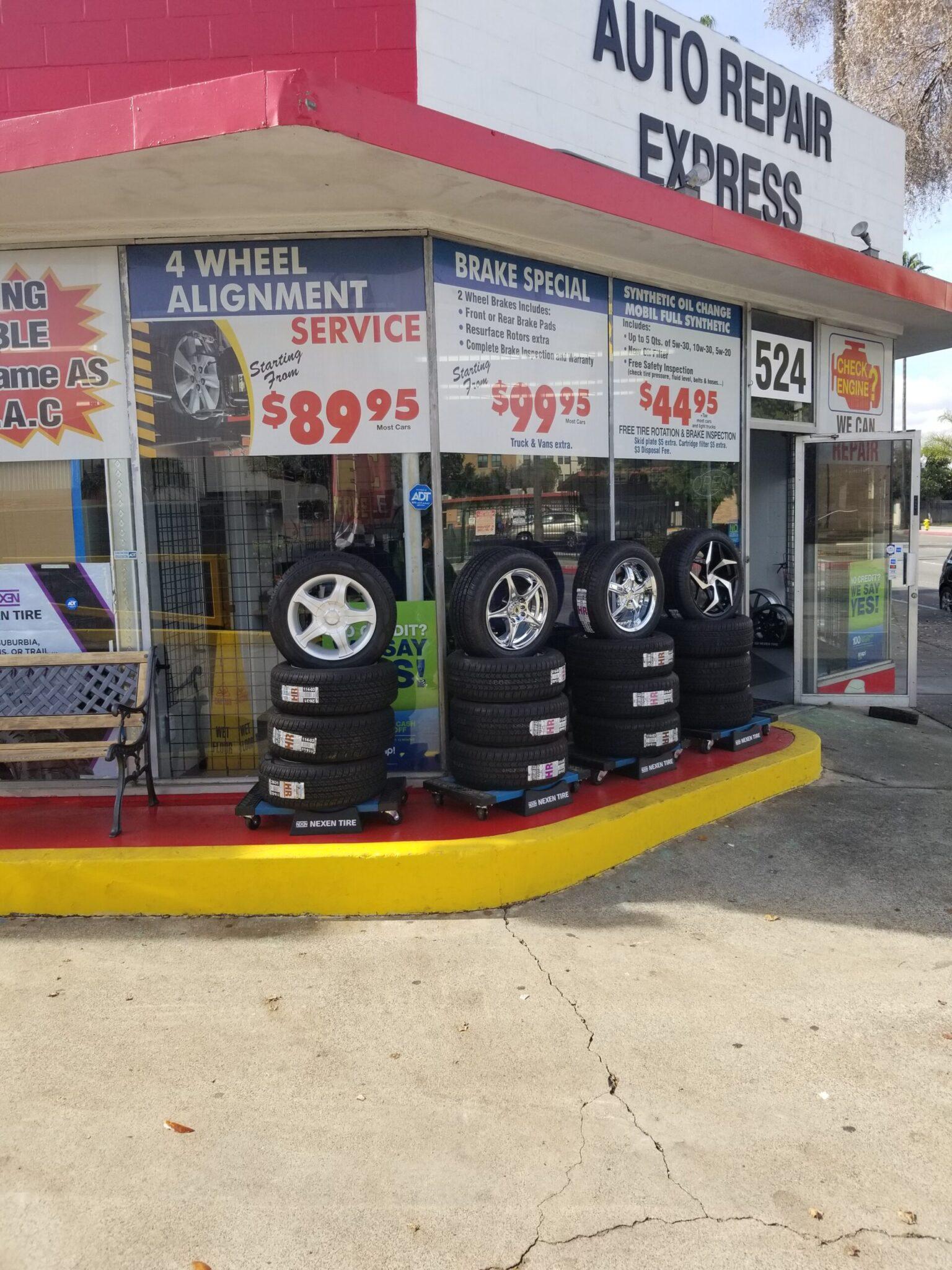 services auto repair express