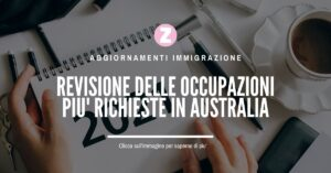 lavori richiesti in australia