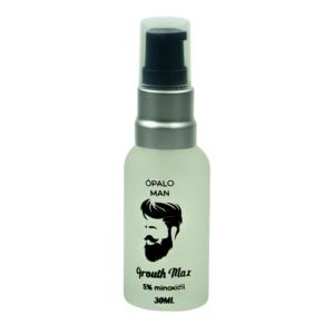 Suero estimulante del crecimiento cabello y barba (Minoxidil 5%)