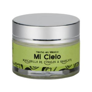 """Mascarilla """"Mi cielo"""" (peel-off mask) """"Cítricos y aguacate"""""""