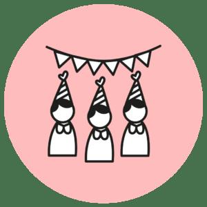 Kit para eventos: jabón+ vela + bálsamo labial de cacao