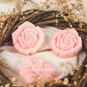 Jabón/Crema sólida de flores