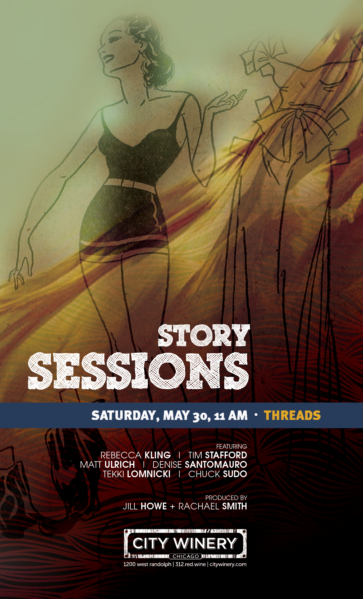 """May 30 Brunch Show: """"Threads"""""""