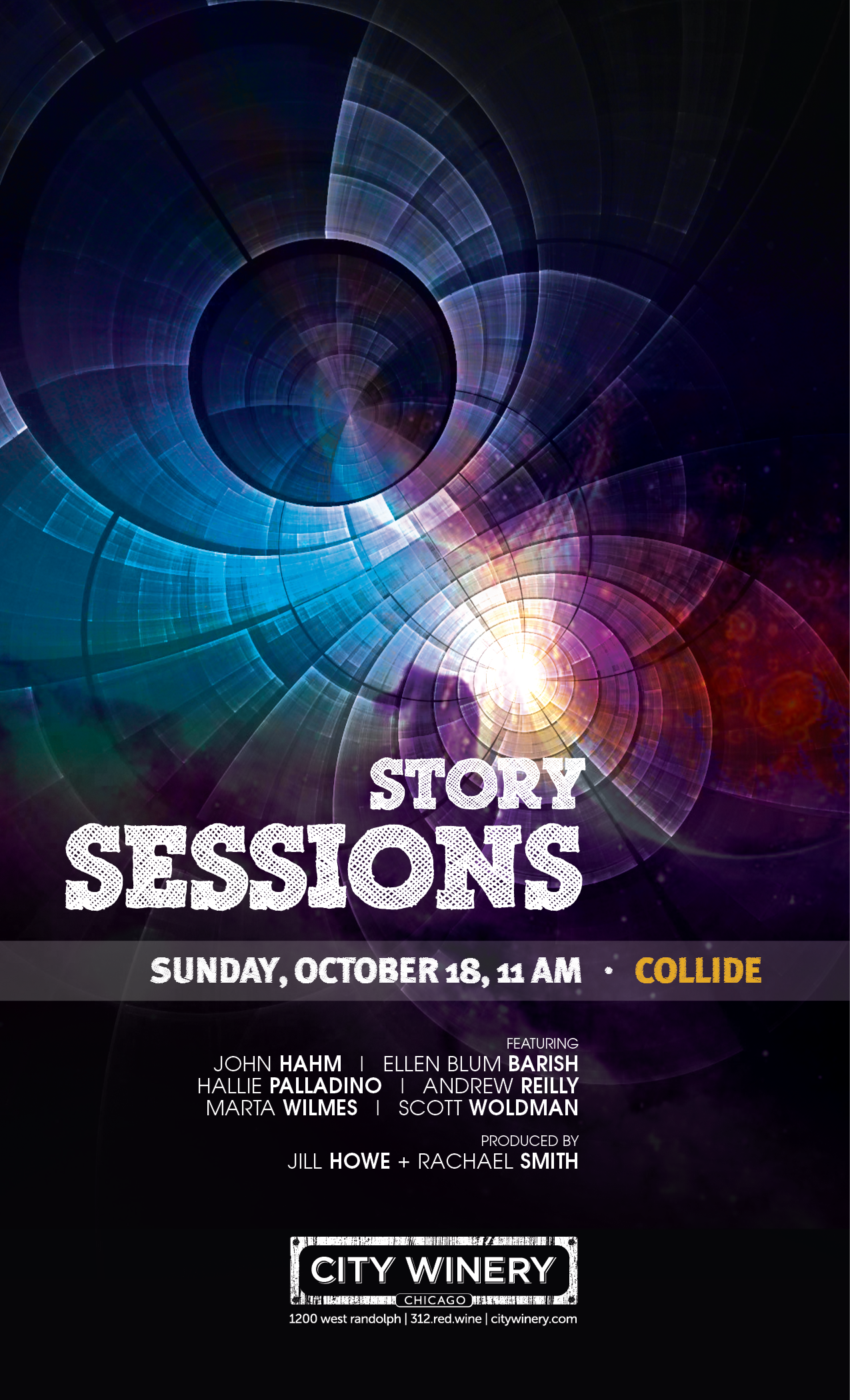 """""""Collide"""" into our October Brunch Show"""