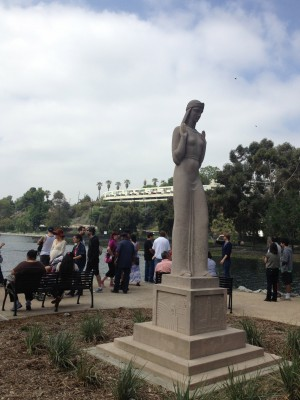 Lady of the Lake Statue