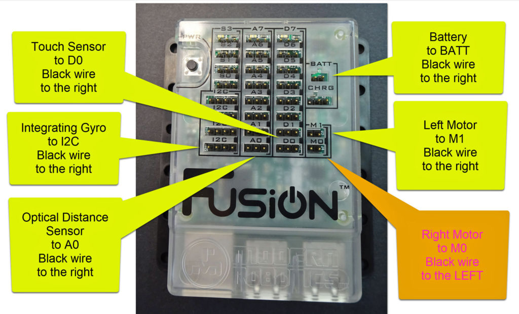 Final Wiring diagram for Fusion Robot