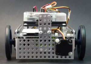"""Fusion Robot Optical Distance Sensor mounted for SUMO and """"Line Edge Following""""."""