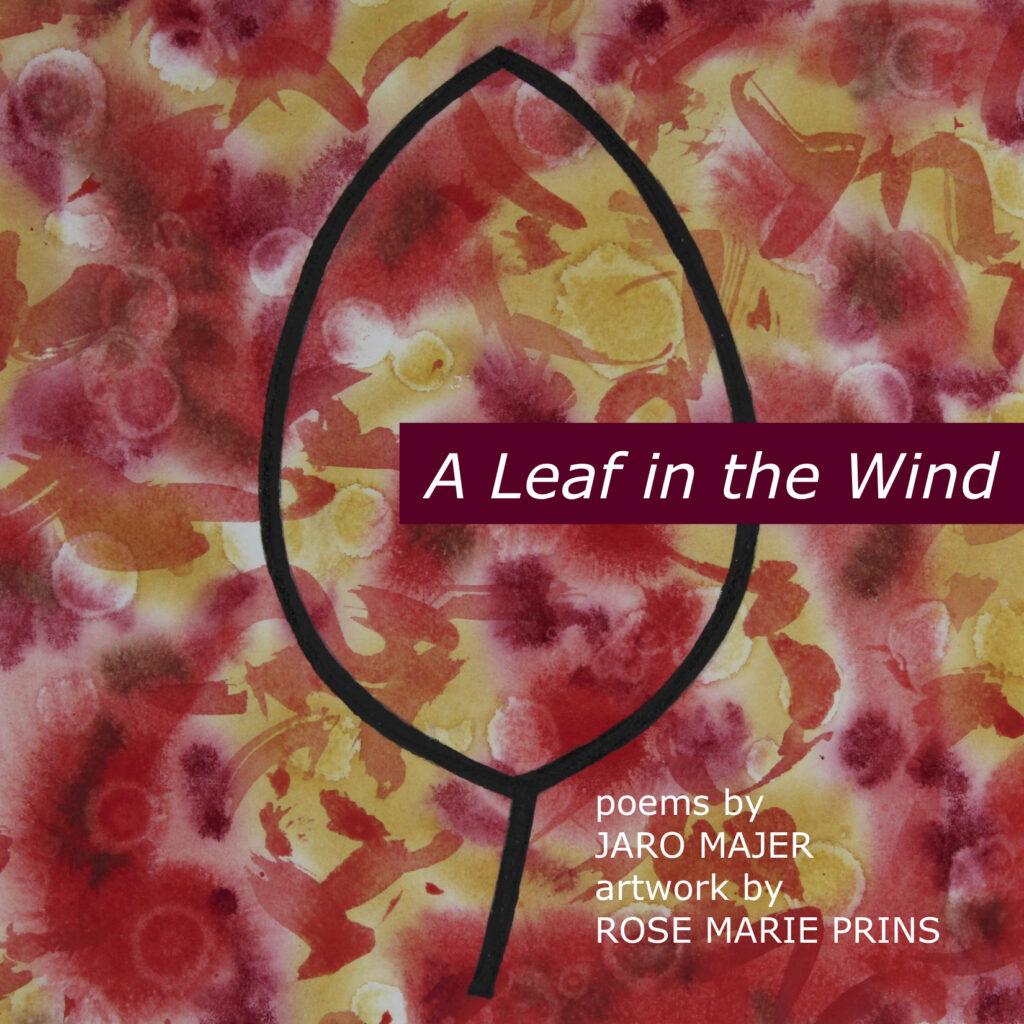 A leaf in the wind book cover