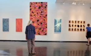 Installation view of Creative Pinellas' Arts Annual, 2018