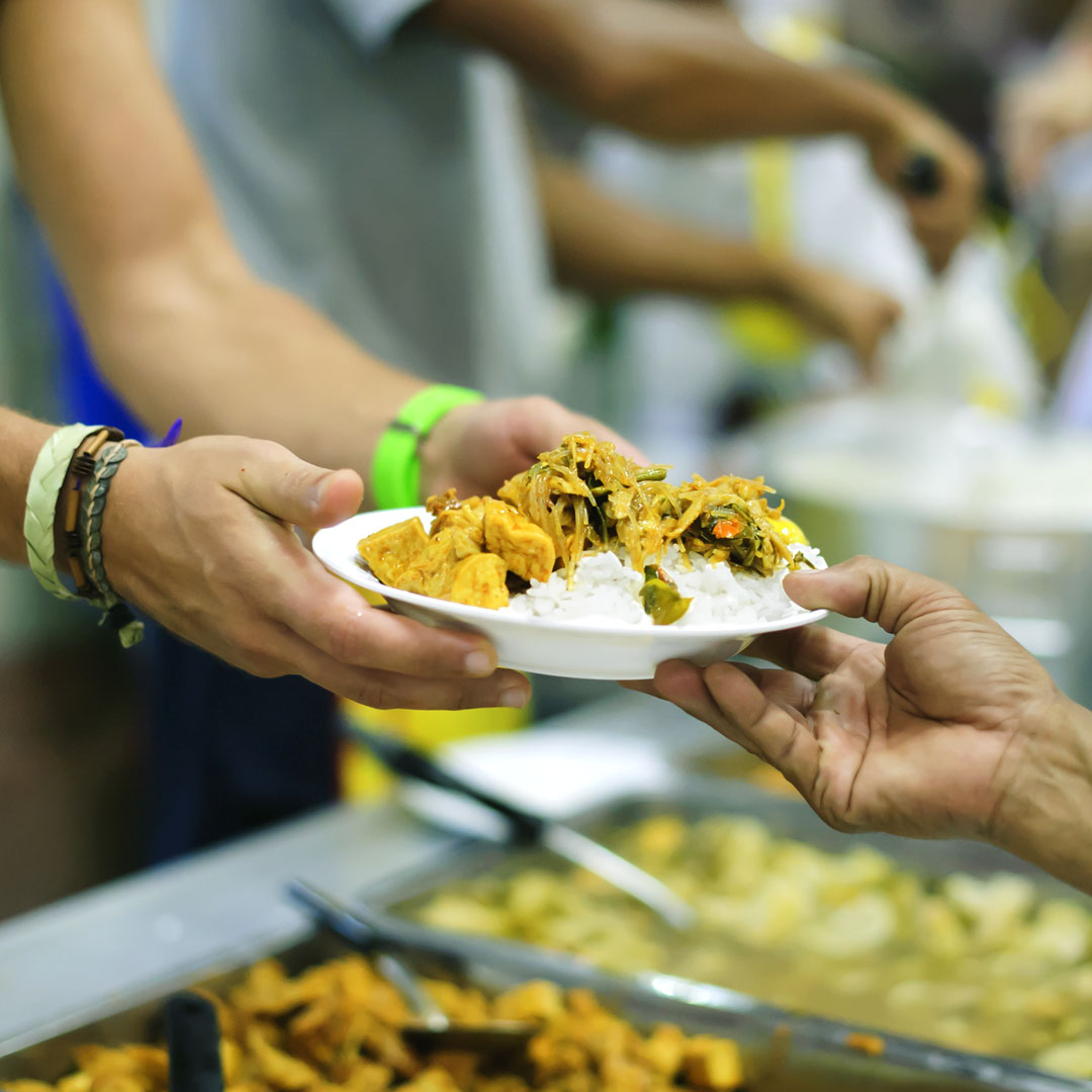 Food shelter giving