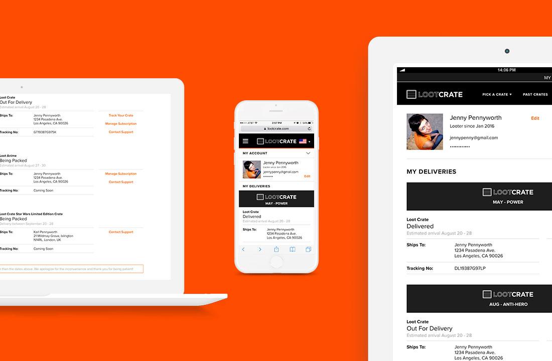 LootCrate Subscription Profile