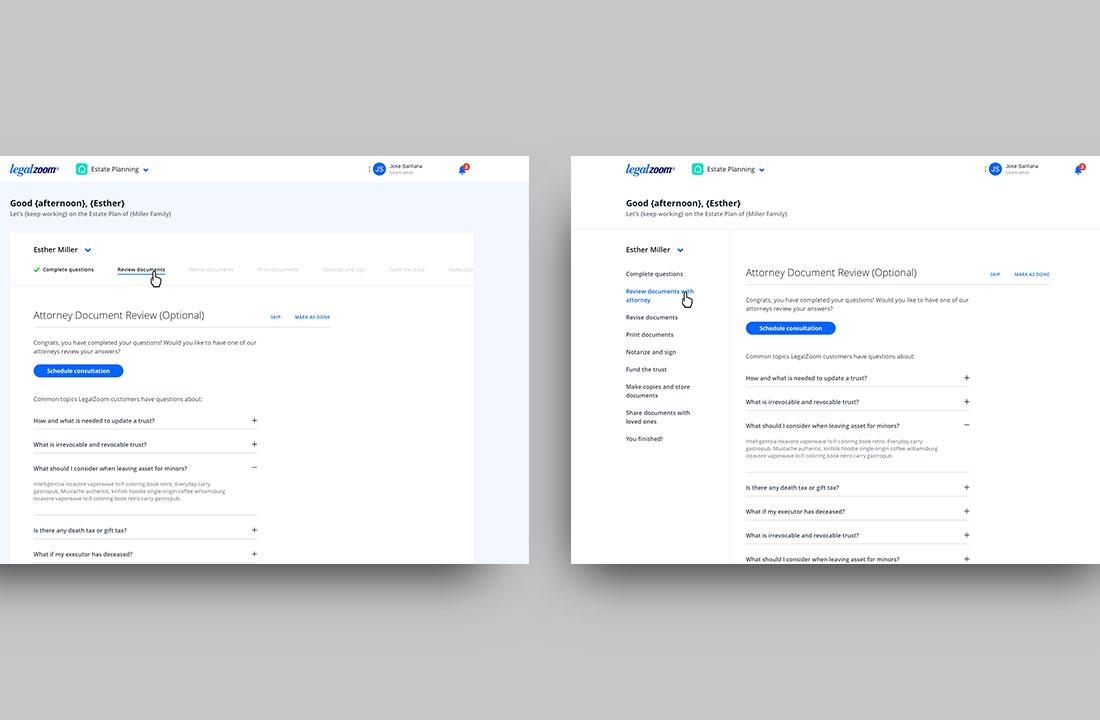 Dashboard explorations (Desktop) 2