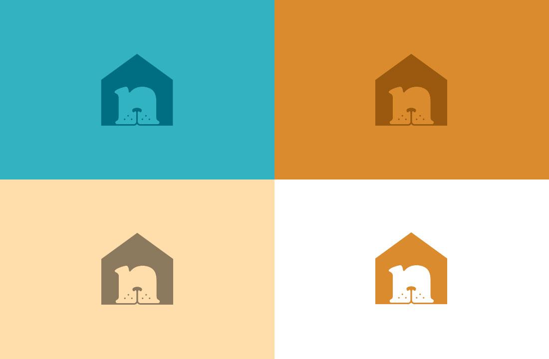 Dog version color palette