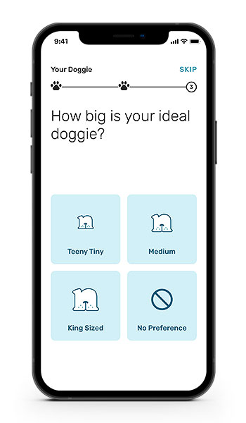 Nuzzle onboarding questionnaire-Your Doggie question
