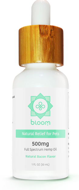 Bloom Natural Hemp CBD for Dogs & Cats