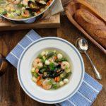 La Soupe aux Fruits de Mer Frais  (Fresh Seafood Soup)