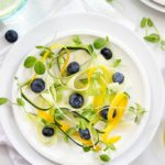 Blueberry and Zucchini Salad
