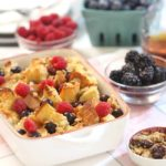 Triple Berry Baked French Toast