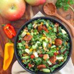 Apple and Quinoa Kale Salad