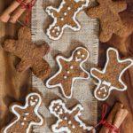 Healthy Gingerbread Cookies (Vegan and Paleo)