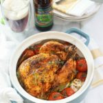 Roast Chicken with Tomatoes and Olives