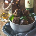 Maple Whiskey-Laced BBQ Meatballs