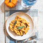 Creamy Vegan Pumpkin Sage Penne