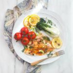 Baked Lemon Sole with Garlic and Smoked Paprika