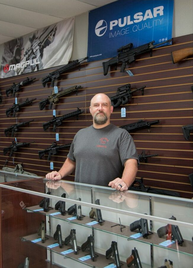 LeadHeadsLLC_Saginaw_Texas_Gun_Shop_Owner_Taylor_Spence