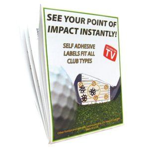 golf swing training aid, golf ball striking trainer