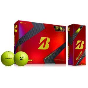 bridgestone b330rx yellow golf balls