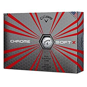 callaway chromesoft x golf balls