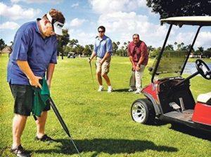 golf club urinal, funny golfer gift