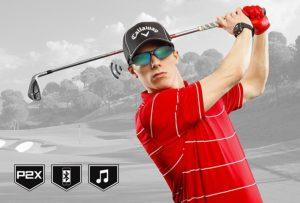 golf sunglasses bluetooth speakers, cool golf gadget