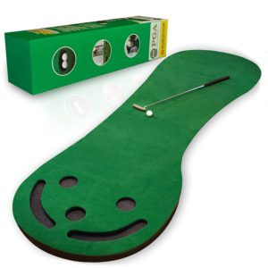 practice putting green, golf putting training aid