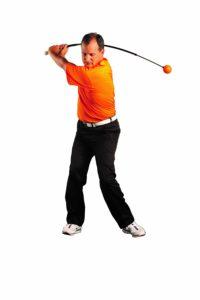 golf gadget, orange whip golf swing trainer