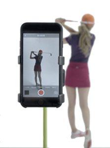 golf swing camera holder golf gadget