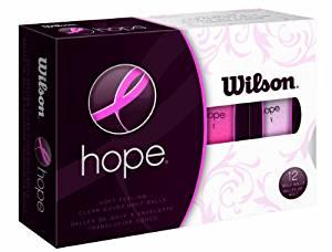 wilson hope pink golf balls