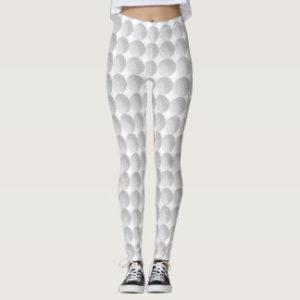 womens golf ball leggings
