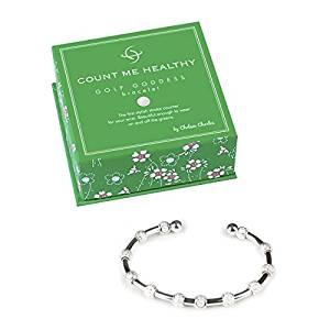 womens golf score counter bracelet