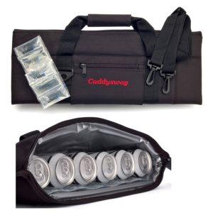caddyswag 6 can golf bag cooler, hidden golf cooler