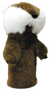 caddyshack golf gopher headcover, gopher golf head cover, caddyshack golf headcover