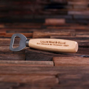 custom bottle opener, unique golf tournament gift, golf outing goodie bag idea