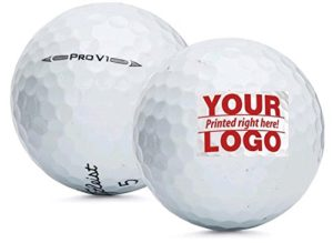 custom logo prov1 golf balls, golf tournament gift, golfer goodie bag gift